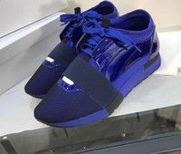 ingrosso fabbrica personalizzata-2018 Mocassini LUXURY personalizzati in fabbrica DESIGN BRAND DESIGNER Sneakers uomo in pelle UOMO MENS RUNNER DONNA Skateboard SCARPE