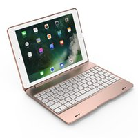 Wholesale ipad notebooks resale online - For Ipad Pro Notebook Flip Cover Bluetooth Keyboard