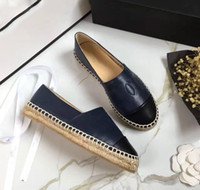 Hot selling Classic Summer Sandals Luxury Brand Espadrilles Fisherman Shoe Low Heel Genuine Leather Leisure Shoes Many Color Size 35-41 Model 178532027