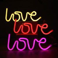 Wholesale Disco Light Wall - LED Neon Sign Light,Love Sign Shaped Decor Light,Wall Decor for Chistmas,Birthday party,Kids Room, Living Room, Wedding Party Decor