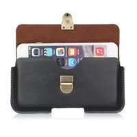 Wholesale gionee cases online – custom Universal PU Leather Belt Clip Pouch Cover Case for Gionee S11S S11 M7 Power
