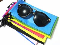 Wholesale cloth sunglasses bag for sale - Group buy Pouches for Sunglasses Mp3 Soft Cloth Dust Pouch Optical Glasses Carry Bag cm mixed color