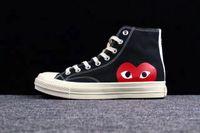 büyük göz toptan satış-Moda 1970 Tuval Atletik Ayakkabı Klasik 1970 s Kanvas Ayakkabılar Ortak Adı CDG Büyük Gözler Rahat Eğitim Sneakers Oyna