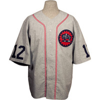 Wholesale buffalo logos - Houston Buffaloes 1932 Road Jersey 100% Stitched Embroidery Logos Vintage Baseball Jerseys Custom Any Name Any Number Free Shipping
