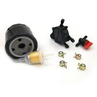Wholesale fuel filter pump for sale - Group buy Oil Filter Fuel Pump Fuel Filter Fuel Shut off Valve Clamp for Kohler CH18 CH25 CV17 CV25 CV620 CV1000 ECV650 ECV980 SV710 SV840 Engine
