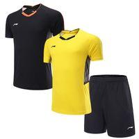 Wholesale polo shirt golf - 2018 New Women Men Sportswear badminton shirt Volleyball Golf table tennis t-shirt sports clothes POLO T Shirts Quick Dry Tennis Jerseys