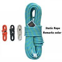 20b0cab77 Profissional 6 8   10.5   12mm corda de sobrevivência de segurança Ao Ar  Livre de Alta Qualidade nylon corda estática Corda de escalada material de  Nylon ...