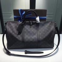 Wholesale pvc panels online - 3 Photos Find Similar new fashion men women travel bag duffle bag brand designer luggage handbags large capacity sport bag CM