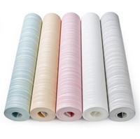 ingrosso adesivi di sfondo del sofà-Moda tessuto non tessuto 3D carta da parati sottile affollamento strisce verticali sfondi per soggiorno divano sfondo muro adesivo 13jm BB