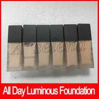 ingrosso colori giorni-2018 New Makeup All Day Fondotinta senza peso luminoso Cosmetics 1FI. Oz. 30mL 6 colori Makeup Base Face Concealer spedizione gratuita
