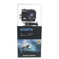 exibição de câmera de ação venda por atacado-K5G Ação Câmera PK SJ4000 30 M À Prova D 'Água HD 4 K Esporte Câmera 2.0 Polegada Display LCD 140 Graus Wide Angle Lens Câmera Ao Ar Livre