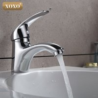 Wholesale brass hose for sale - Group buy XOXOBasin taps Brass body Faucets Mixer hot and cold water hose Chrome