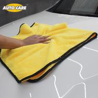 ingrosso scivolone automatico-Asciugamano super assorbente in microfibra Asciugamano auto asciugatura panno di grandi dimensioni 92 * 56 cm orlatura car care panno dettaglio asciugamano seccatoio