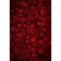 ingrosso vinile per la stampa digitale-Digital Printing 3D Red Rose Fondale Fotografia Wedding Romantico San Valentino Bambini Bambini Ragazze Photo Studio Sfondi Tessuto in vinile