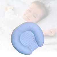 подушки с плоской головкой оптовых-Совершенно новый малыш новорожденного новорожденного сна позиционер поддержки подушки подушка предотвратить плоскую голову детская подушка