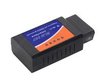 Wholesale Elm327 Ipad - ELM 327 WiFi ELM327 OBD WiFi OBD2 Elm327 Work On IPhone IPad PC ObdII Elm327 Wifi
