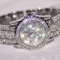 Wholesale-Hotest Sales Women Relógios Fashion Diamond Dress Watch Alta qualidade Luxo Rhinestone Lady relógio Quartz Relógio de pulso Drop shipping