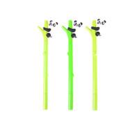 ingrosso gel di bambù-0.5mm Cartoon Panda Bamboo Neutro Penna Materiale plastico 0.5mm Penna Gel Scuola Ufficio Forniture Ricompensa Cancelleria Regalo Casuale 1 Pz