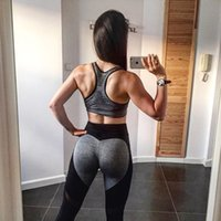 Wholesale bodybuilding clothing women - 1 Pc Lot New plus size leggings just do it love pink stitching yoga pants tights bodybuilding fitness sportswear leggings for women clothing