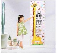 vinilos decorativos bebé al por mayor-La altura de los niños, los adhesivos de pared, el tamaño del bebé de los dibujos animados de la sala de estar, los adhesivos decorativos de animales de pared puede eliminar los adhesivos de altura. 70 * 24 cm