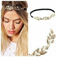 Wholesale feather hairpieces - Party Hairpiece Hair Accessories Band Indian Peacock Feather Headband Brown