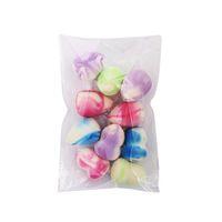 make-up geschenk-pack großhandel-4/6/10 Teile / paket Bunte Mini Make-Up Foundation Schwamm Puff BB Creme Mixer Concealer Rouge Makellose Kosmetische Tools Kit Geschenk