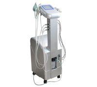 máquinas de terapia de vacío al por mayor-6 en 1 Máquina Facial Oxígeno Multifuncional Oxígeno Jet máscara Facial BIO Rejuvenecimiento de la Piel Terapia Máquina de Vacío