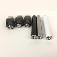 ingrosso cartucce di colore vaporizzatore-Colore nero / argento / bianco 350mah O penna vape bud touch batteria con caricatore USB 510 thread per cartucce a penna vaporizzatore olio denso