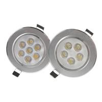 bombilla luz de techo al por mayor-Focos LED 9W 12W 15W 21W Grado / Luz brillante regulable Focos Redondos Conductor Focos LED Focos LED Focos empotrables
