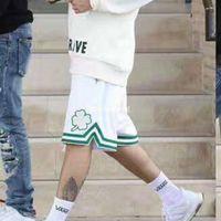 ingrosso maglia cerniera-2018 NUOVA Moda Fear Of God Uomo Pantaloncini Summer FOG Justin Bieber Zipper Skate Mesh Retro Shorts Maglia Basket Shorts S-XL HFLSDK011