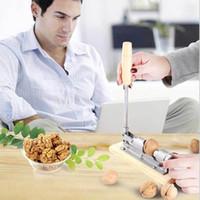 Wholesale bolt and nut for sale - Group buy Eco Friendly Nut Cracker Nut Bolt Mechanical Sheller Walnut Nutcracker Nut Cracker Fast Opener Kitchen Tools Fruits And Vegetables