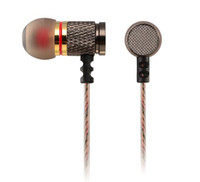 Wholesale Good Bass - Brand New KZ Metal Earphones Sport Headphones Earbud Auricular Good Bass High Quality HiFi With Microphone