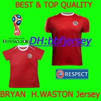 Thailand maillot Football Shirts Soccer Jerseys 2018 World Cup Costa Rica  BRYAN H.WASTON M.URENA 18 19 Costa Rica jerseyss Camisa de futebol b3c164952