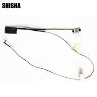 жк-экраны оптовых-10pcs/lot New LVDS LED LCD Video Flex Cable For ASUS Vivobook S551 S551L S551LA S551LB DDXJ9BLC010 Screen Display Cable
