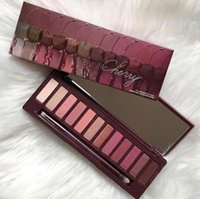 Wholesale free dhl eyeshadow palettes for sale - lowest price hot new arrivals makeup Palette color NUDE Cherry eyeshadow Palette eyeshadow palettes DHL
