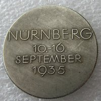 Wholesale H Ornament - H(39)Germany Commemorative Coins 1944 Copy Coins Brass Craft Ornaments
