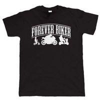 superbike motorräder groihandel-Für immer Biker Mens Funny Motorrad T-Shirt - Superbike Motorrad - Geschenk Papa