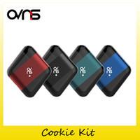 Wholesale green cookies - Authentic Ovns Cookie Kit 400mAh Battery Super Mini Pod Vape Kits For Cookie Portable Vaping Pods 100% Original 2291003