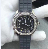 Wholesale ladies solar powered watches for sale - Group buy 6 Style Ladies Fashion Watch A MM White Dial Diamond border VK Quartz Rubber Strap Bands Chronograph Womens Watch Watches