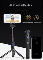 штатив оптовых-Многофункциональная ручка для селфи с подставкой для штатива Bluetooth, IPhone X / iPhone 8/8 Plus / iPhone 7/7 Plus / iPhone 6 Plus, Galaxy S9 / S9