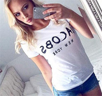 Hot selling Brand New Fashion JACOBS Women Funny T Shirts Casual Cotton Short Sleeve Tops Casual tshirts Camisetas Tumblr clothes Female Tee