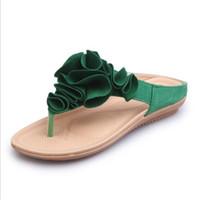 Vente en gros Sandales D'été Sweet Flower Femmes 2020 en