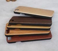 iphone silikon holz fall großhandel-Bester Preis Bambus handgefertigt für iPhone X Holz + Silikon Case Holz Abdeckung für iPhone 7/8 Plus Xs max Samsung Galaxy S8 S9 Plus Fall