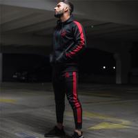 толстовка с капюшоном оптовых-2018 New Autumn Fitness Hoodies  Clothing Men Hoody pullover Casual Sweatshirt Muscle Men's Slim Fit Hooded Jackets