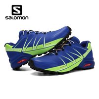 Wholesale new lower sports male for sale - Group buy 2018 New Salomon Speed Cross CS Men Designer Running Shoes Black White Red Blue male jogging Outdoor Sport sneakers US