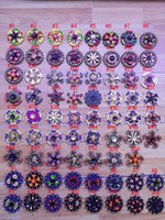 Wholesale triangle fidget spinner for sale - 71 Styles Newest Double Bearings Fidget Spinner EDC Triangle Axe Round Compass Metal Hand spinners spinning Killing Time Fidget Spinner