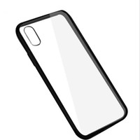 transparente handys zum verkauf großhandel-Heißer verkauf einfarbig für iphone x telefon case tpu + pc transparent weichen case für iphone 6 7 8 plus kreative handy case