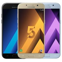Wholesale octa core phone 4g ram resale online - Refurbished Original Samsung Galaxy A5 A520F inch Octa Core GB RAM GB ROM MP mAh G LTE Android Smart Phone Free DHL