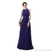 84830ff36 100% muestra real Regency vestidos de fiesta formal de noche 2018 una línea  sin mangas envío gratis y entrega rápida vestido de fiesta largo barato