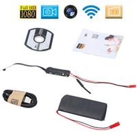 домашняя безопасность оптовых-DIY модуль мини-камеры-обскуры 1080P P2P WIFI IP-камеры домашнего офиса безопасности наблюдения няня Cam Full HD mini DV Z88
